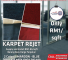 Reject carpet rm1/sqft-super cheap price..New carpet at price of second handcarpet