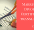 Marriage/ Divorce Certificate Translation – Lyric Labs