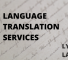 Language Translation Services in Malaysia – Lyric Labs