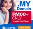 .MY Domain: Get 4yrs for the price of 2