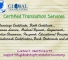 Certified Translations services 15 Oct