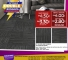Karpet Tiles - Promosi October Double Bonanza